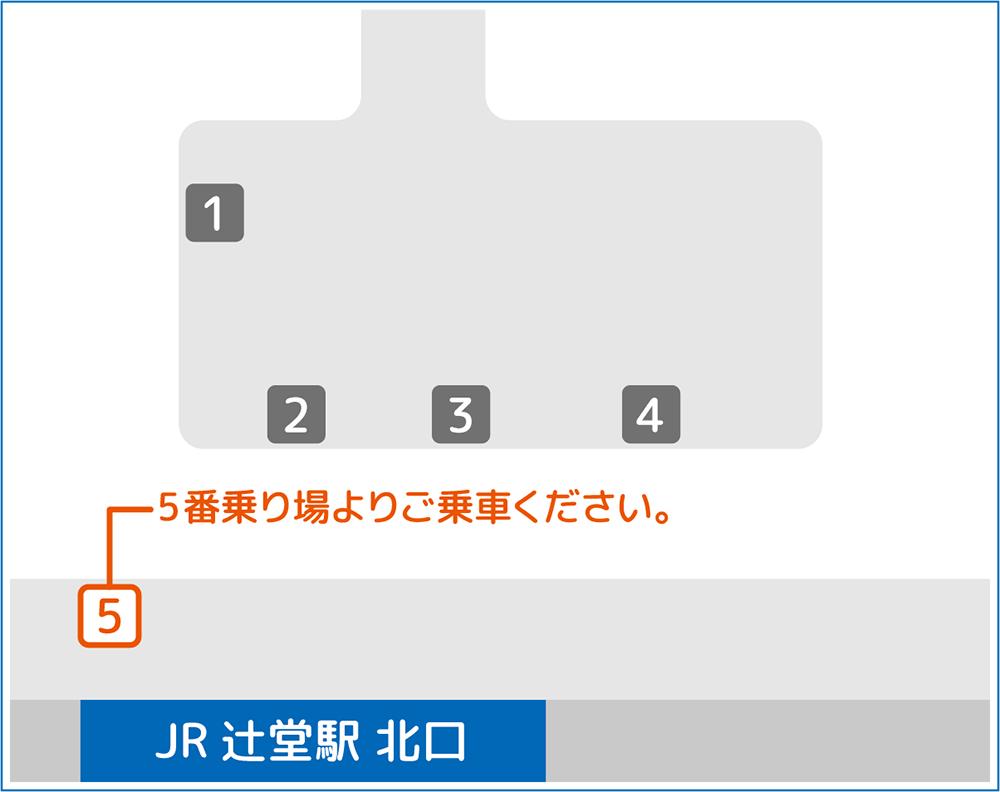 辻堂s駅北口バスのりば